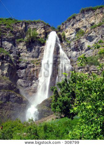 Stewart Falls Utah