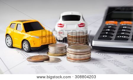 Cars, Coins And Calculator