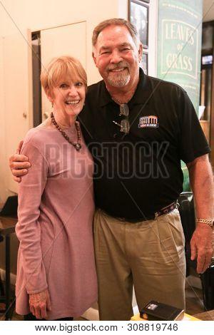 HUNTINGTON, NY - JUN 26: Former baseball player Ron Swoboda (R) and his wife Cecilia at his