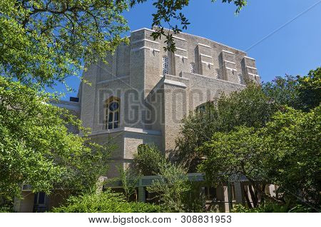 Historic Temple Building Of Byzantine Style Architecture In New Orleans Louisiana