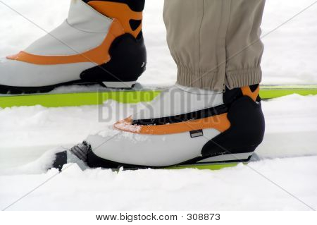 Skiing Shoes