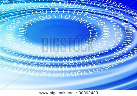 Binary Code Ripple