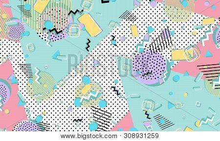Memphis Pattern  Vector & Photo (Free Trial) | Bigstock