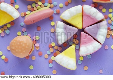 Jellies And Sweets Jelly Cake High Quality