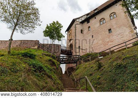 Entrace Gate To The Wartburg Near Eisenach, Thuringia