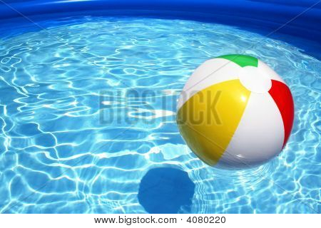 Pool Water With Beach Ball beach ball images, illustrations, vectors - beach ball stock