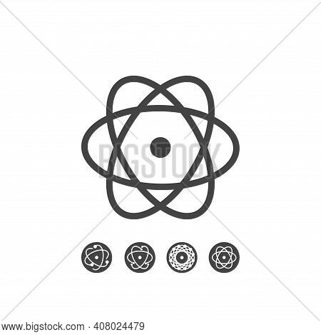 React Native Large Lines Icons Set Isolated On White Background For Your Arts