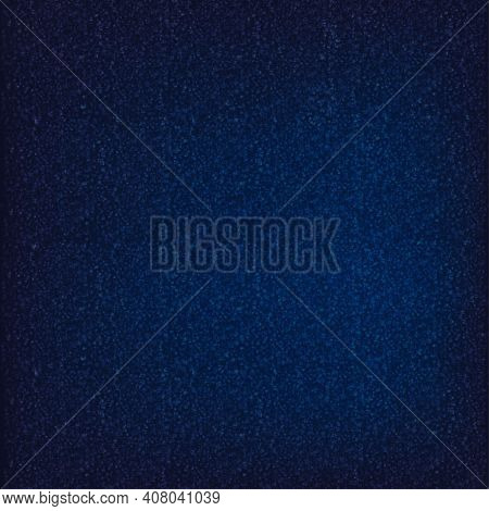 Abstract Technology Background.background With Mini Square Shapes On Dark Blue Background.