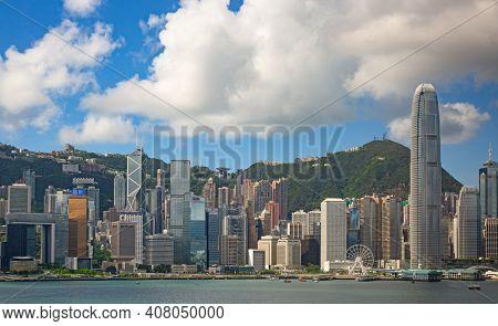 HONG KONG - APRIL 1: Ferry