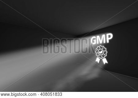 Gmp Rays Volume Light Concept 3d Illustration