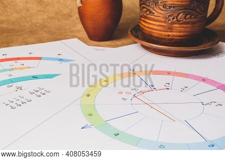 The Workplace Of An Astrologer, Prophet, Magician And Sorcerer Of Our Time.
