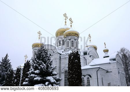 Cathedral Of  Holy Trinity Of Raifa Monastery