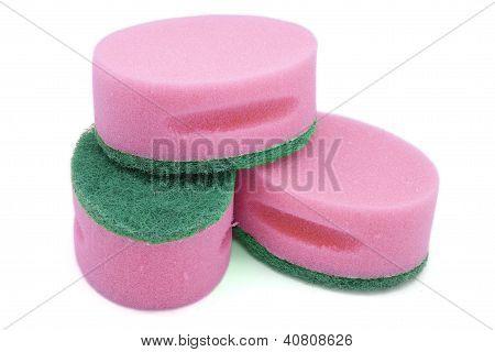 Pink Scourers