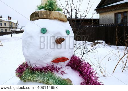 Snow Maiden In Sviyazhsk