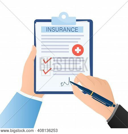 Electronic Signature In Flat Style. Flat Infographic. Phone Icon Vector. Digital Background. Electro