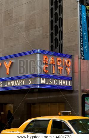 Radio City Taxi Cab