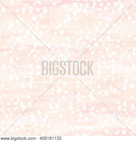 Light Pale Pastel Tie Dye Confetti Texture Background. Washed Out Soft Textured White Seamless Patte