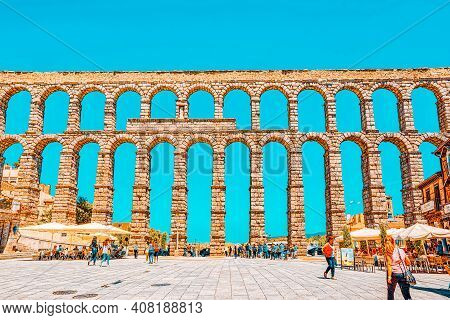 Aqueduct Of Segovia (or More Precisely, The Aqueduct Bridge) Is