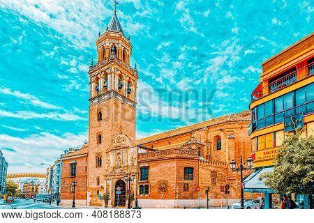 St. Peter's Church (iglesia De San Pedro ) Near Metropol Parasol
