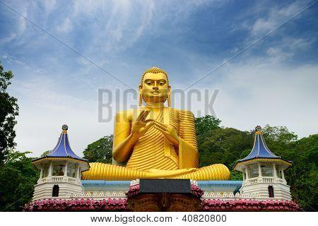 Statue der Buddhaschaft