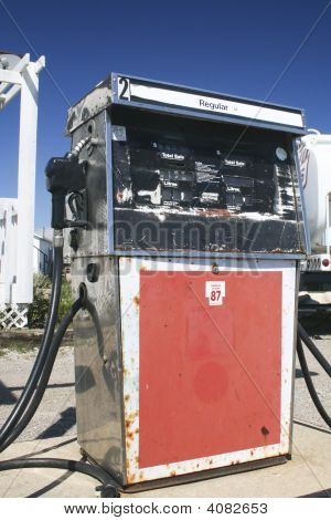 Old School Fuel Pump