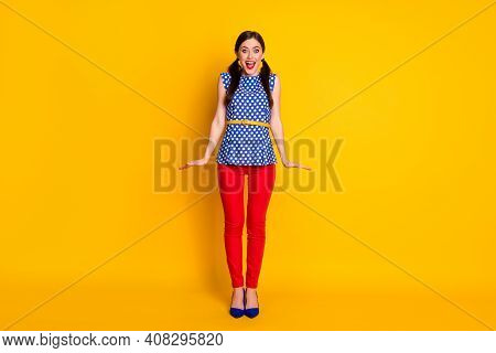 Full Length Body Size View Of Her She Nice-looking Attractive Lovely Feminine Pretty Glamorous Shy C