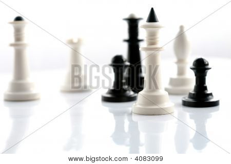 White And Black Chess