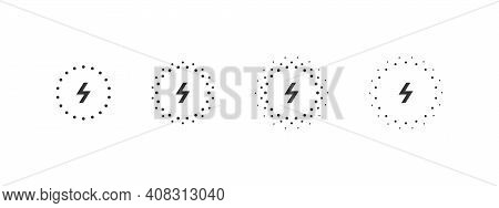 Wireless Chargers Icons. Smartphone Wireless Charger. Concept Charging Icons. Vector Illustration