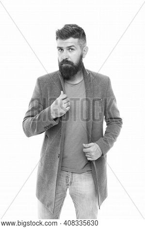How Do You Like My Style. Bearded Hipster Brutal Person. Casual Outfit. School Of Good Manners. Tips