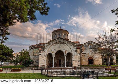 The Church Of Hagia Sophia In Trabzon, Turkey.