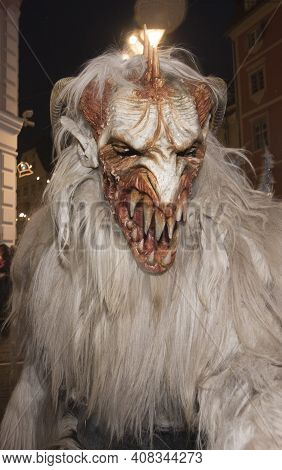 The European Folklore Figure Krampus