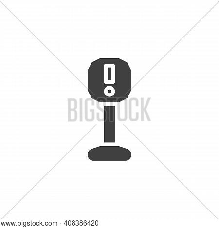 Attention Sign Vector Icon. Filled Flat Sign For Mobile Concept And Web Design. Caution Alert, Excla