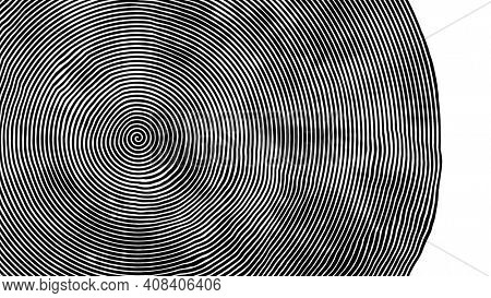 An illustration of a black and white swirl background banner