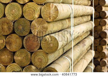 Pallet Of Fencing Posts