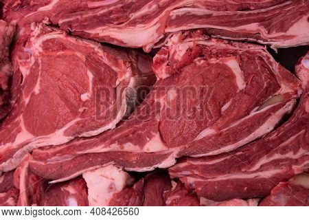 Fresh Red Meat Texture, Shovel For Sale, Hearty Gastronomic Background
