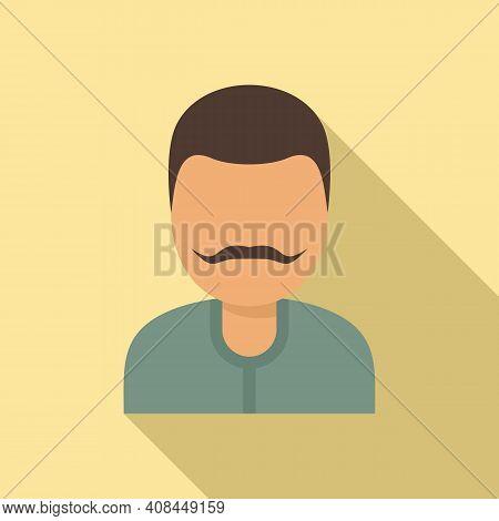 Winemaker Man Icon. Flat Illustration Of Winemaker Man Vector Icon For Web Design