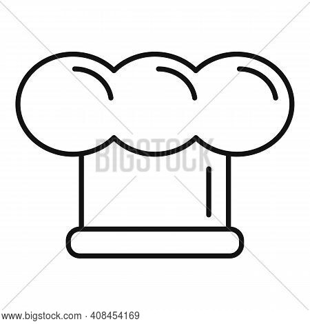 Cook Hat Icon. Outline Cook Hat Vector Icon For Web Design Isolated On White Background