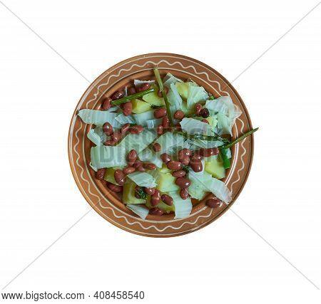 Slovenian Bean And Sauerkraut Hotpot  - Jota