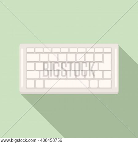 Control Keyboard Icon. Flat Illustration Of Control Keyboard Vector Icon For Web Design