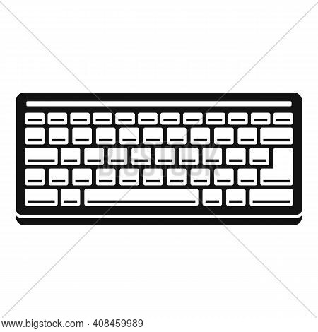 Hardware Keyboard Icon. Simple Illustration Of Hardware Keyboard Vector Icon For Web Design Isolated