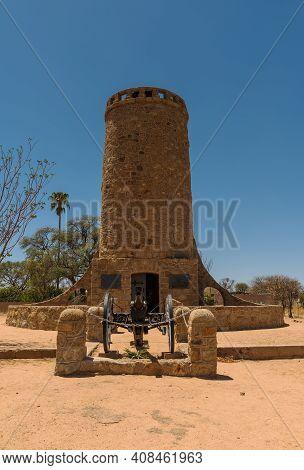 Franke Tower, Franketurm, Military Monument In Omaruru, Namibia