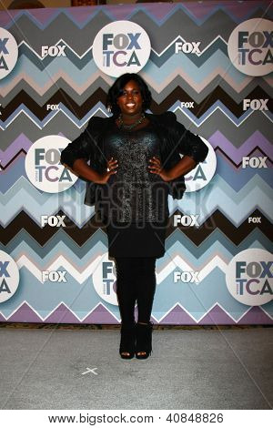 PASADENA, CA- JAN 8:  Alex Newell attends the FOX TV 2013 TCA Winter Press Tour at Langham Huntington Hotel on January 8, 2013 in Pasadena, CA