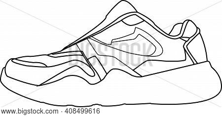 Multicolour Padded Sneakers For Running Athletes Multicolour Padded Sneakers For Running Athletes