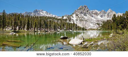 Idyllic Mountain Lake