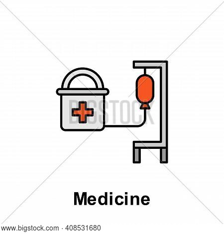 Medicine Outline Icon. Element Of Labor Day Illustration Icon. Signs And Symbols Can Be Used For Web