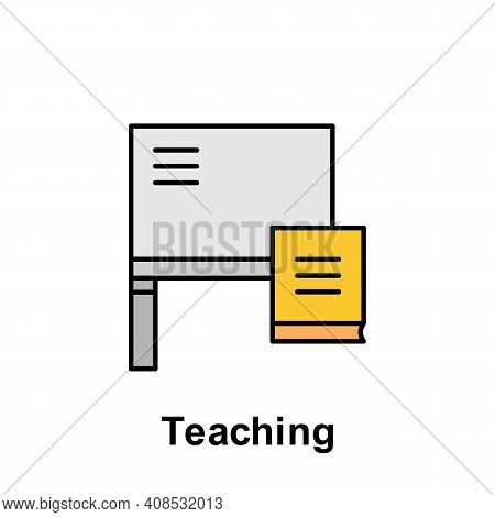 Teaching Outline Icon. Element Of Labor Day Illustration Icon. Signs And Symbols Can Be Used For Web