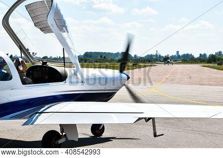 Zhytomyr, Ukraine - 22 August 2020 Ukrainian Plane For Skydiving. Korolev Avia Fest. Avia Festival.