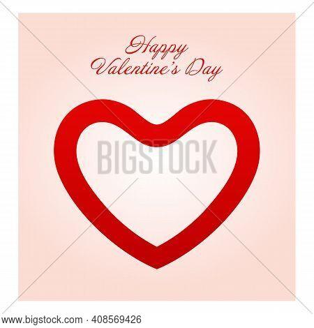 Happy Valentines Day. Valentines Day Background Design. Valentine Background