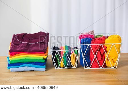 Organizing Kids Clothes In The Evening Helps Save Time In The Morning