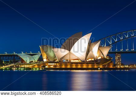 January 6, 2019: Sydney Opera House, A Multi Venue Performing Arts Centre At Sydney Harbour Located